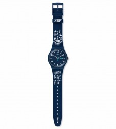 Swatch FWT 2015 BLUE SUON705C