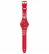 Swatch FWT 2015 RED SUOR705D