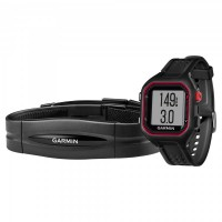 Garmin Forerunner 25 Large - Black/Red HRM1