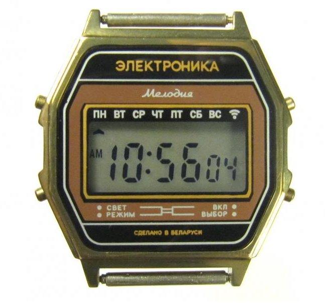 Наручные часы электроника приобрести москва